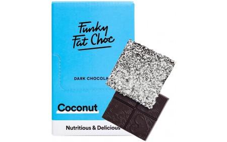 Funky Fat Foods Keto Chocolate - 10x 50g