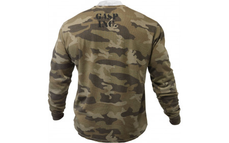 gasp-thermal-gym-sweater-camo-green-back
