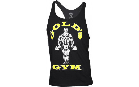 Golds Gym Classic Stringer Tank Top - black