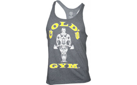 Golds Gym Classic Stringer Tank Top - arctic gray