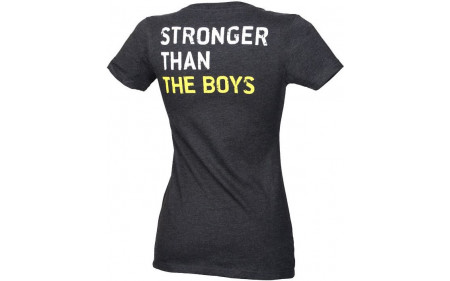 Golds-Gym_Ladies-Stronger-Than-The-Boys-Tee-dark-heather