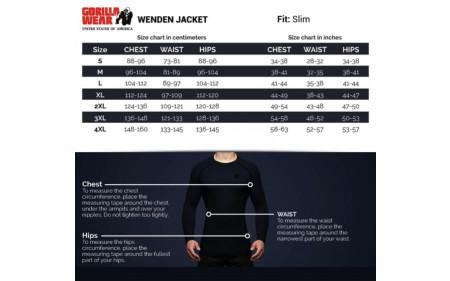gorilla-wear-wenden-track-jacket-schwarz-weiss-groessentabelle