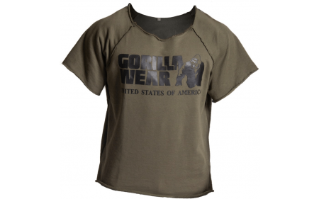 Gorilla Wear Classic Work Out Top - army green