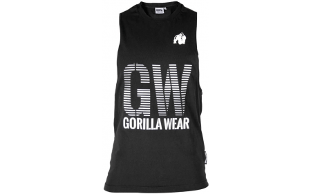 Gorilla Wear Dakota Sleeveless T-Shirt - schwarz