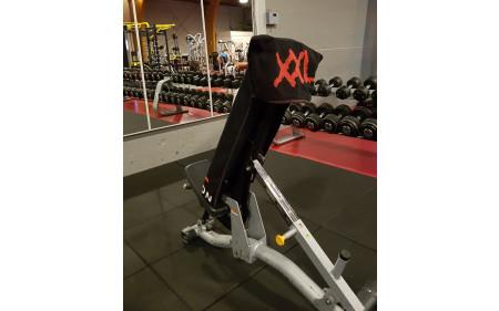 XXL Nutrition - Schwarzes Gym Handtuch