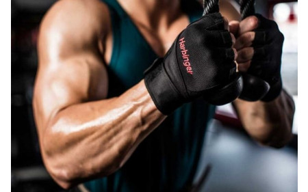 harbinger_pro_wristwrap_glove_black