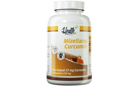 Health+ Mizellares Curcumin - 60 Kapseln