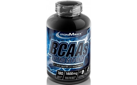 Ironmaxx BCAAs Ultra Strong - 180 Tabletten