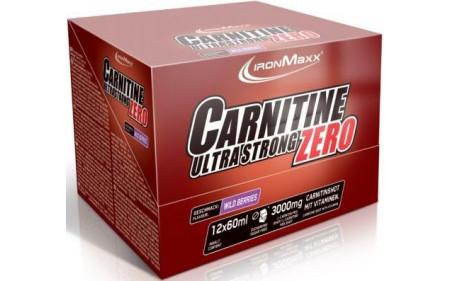 Ironmaxx Carnitine Ultra Strong Zero