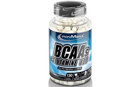 Ironmaxx BCAAs + Glutamin 800 - 130 Kapseln