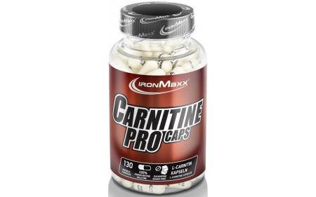 Ironmaxx Carnitine Pro - 130 Kapseln