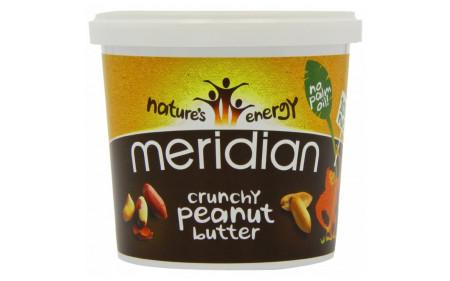 Meridian Peanut Butter - 1kg-Crunchy Peanut Butter