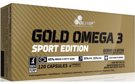 Olimp Gold Omega-3 Sport Edition - 120 Kapseln