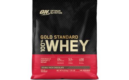 Optimum Nutrition 100% Whey Protein - 4,53 kg Beutel