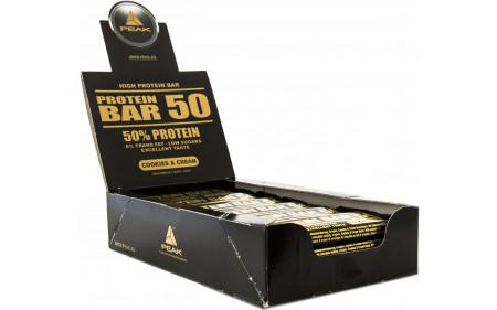 Peak Protein Bar 50 - 50 g Riegel Sparpack