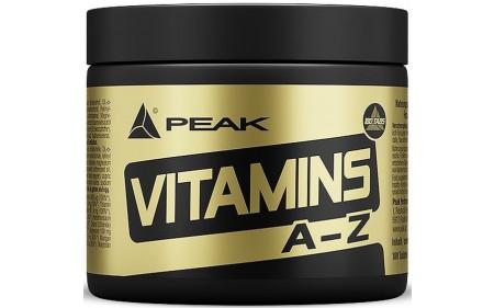 Peak Vitamins A-Z - 180 Tabletten à 750 mg