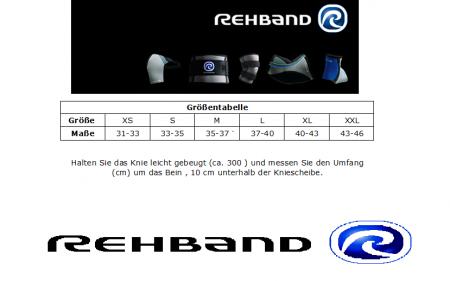 Rehband - RX Kniebandage 5mm schwarz / pink