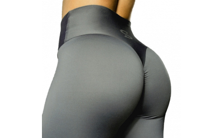 S-Shaped Leggings SARA Premium High Compression - Dark Grey