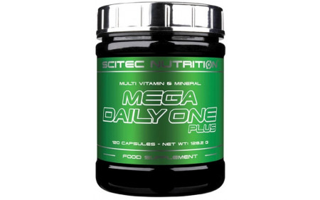 Scitec Nutrition Mega Daily One Plus - 120 Kapseln