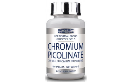 Scitec Nutrition Chromium Picolinate - 100 Tabletten