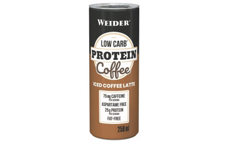 Weider Low Carb Protein Coffee - 250ml Dose