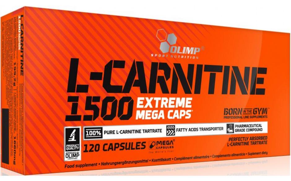 Olimp L-Carnitine 1500 Mega Caps - 120 Kapseln