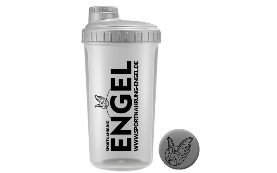 Transparent - Sportnahrung-Engel Shaker 2.0