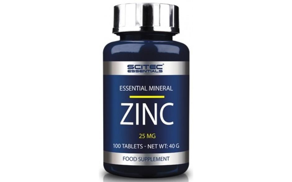Scitec Nutrition ZINC 25mg - 100 Tabl.