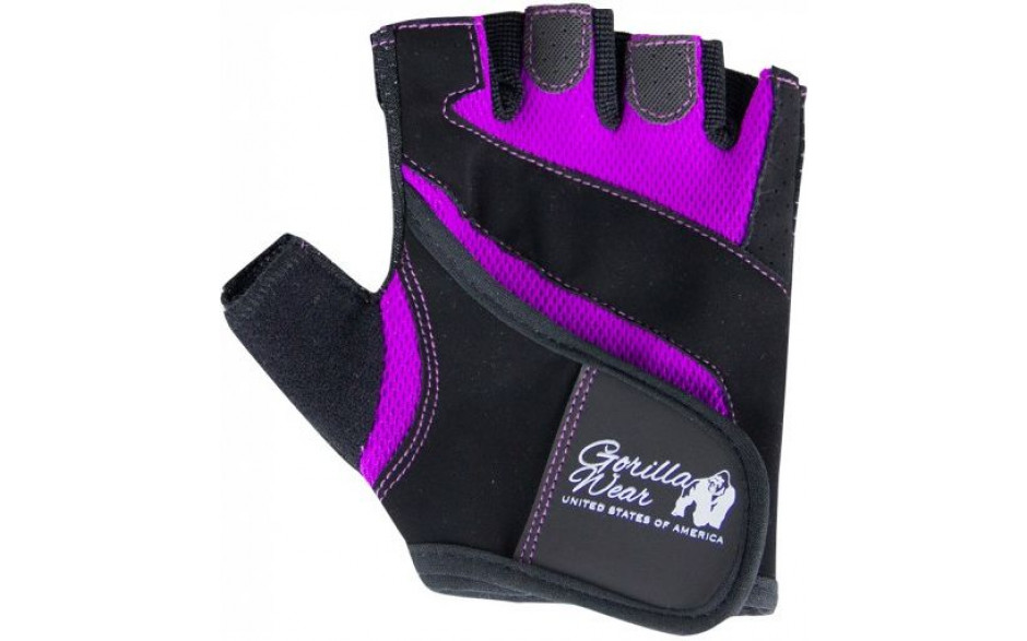 Gorilla Wear Womens Fitness Gloves schwarz-lila