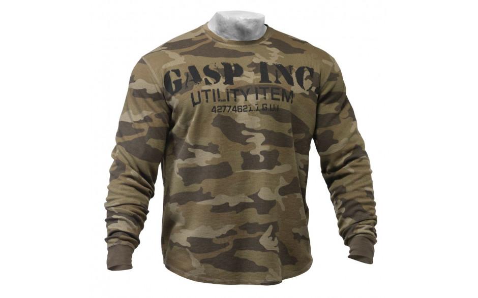 GASP - Thermal Gym Sweater - camoprint