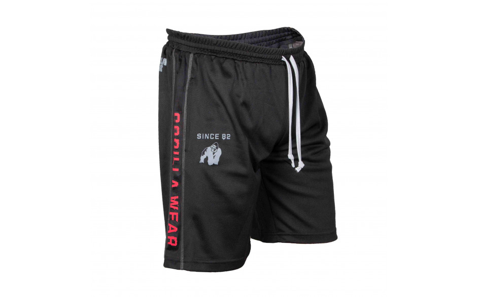 Gorilla-Wear_Functional-Mesh-Short-black-red
