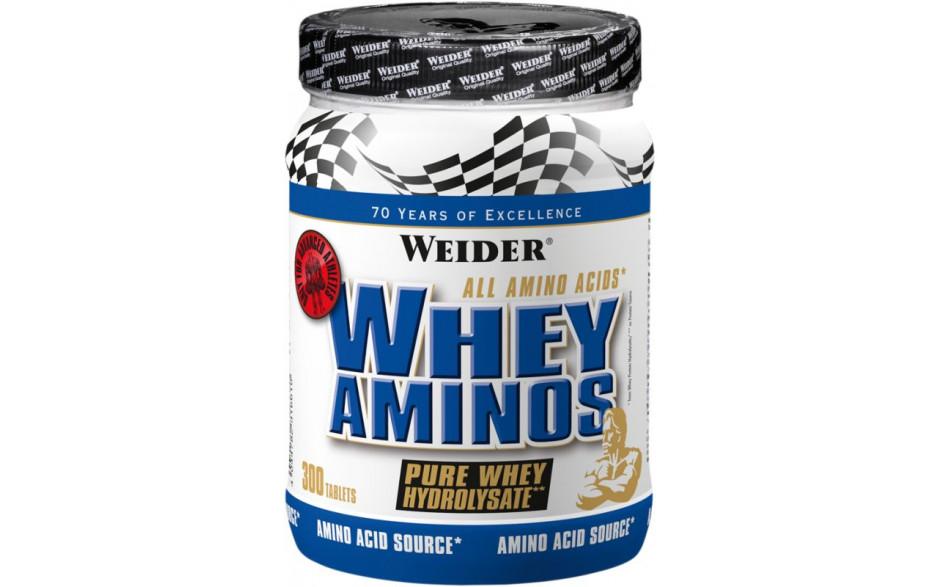 Weider Whey Aminos - 300 Tabletten