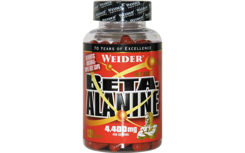 Weider Beta Alanine - 120 Kapseln