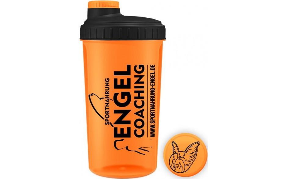 Sportnahrung-Engel Coaching Shaker - Transparent Orange