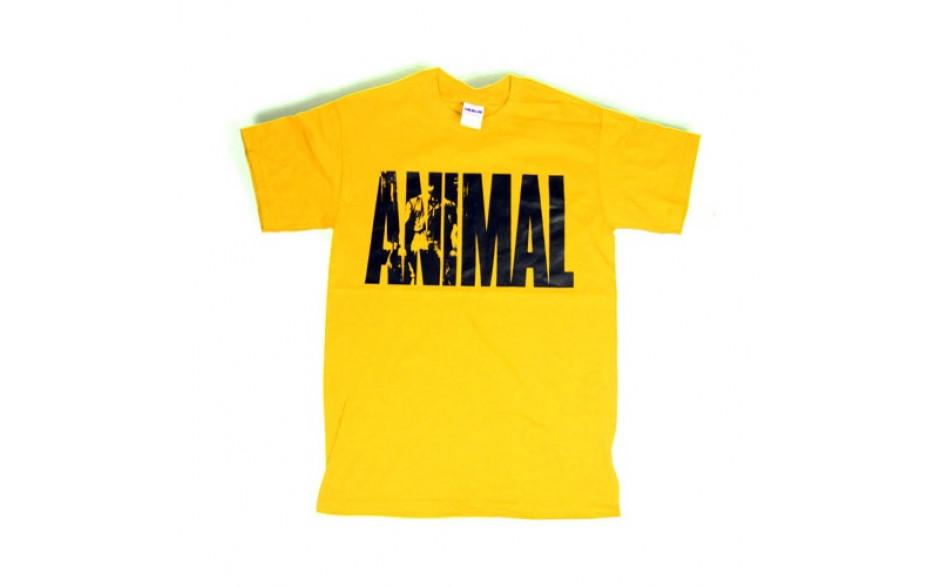 Universal Nutrition Animal Iconic Shirt - yellow