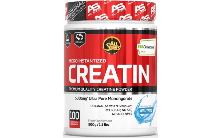 All Stars 100% Creatin Monohydrat - 500 g