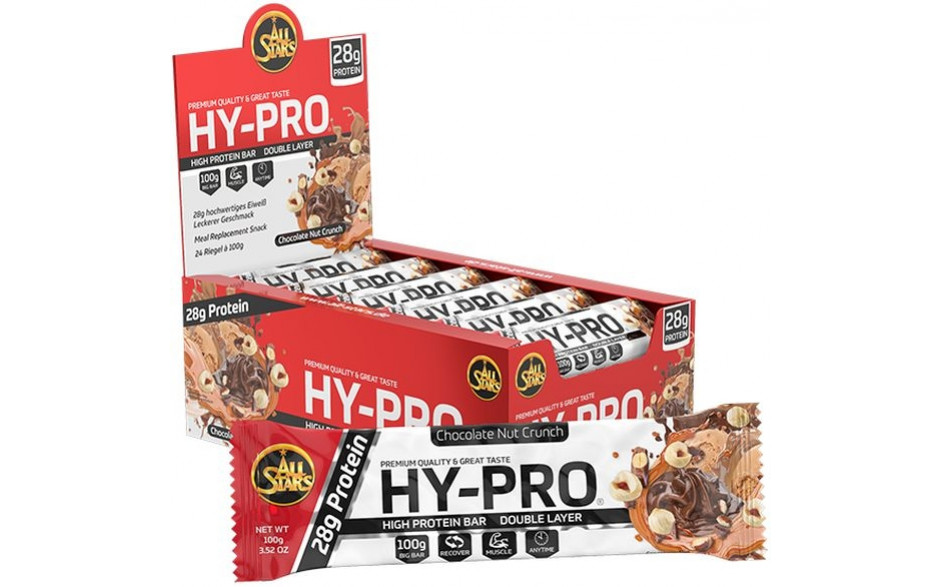 All Stars Hy-Pro Bar - 24x 100g