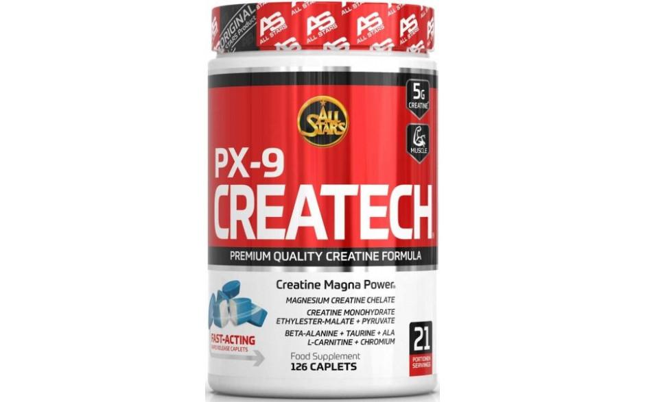 All Stars CREATECH PX9 - 126 Caplets