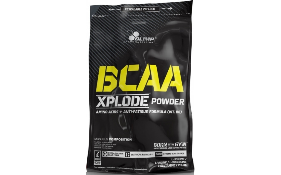 Olimp BCAA Xplode Powder - 1000g Zip-Beutel