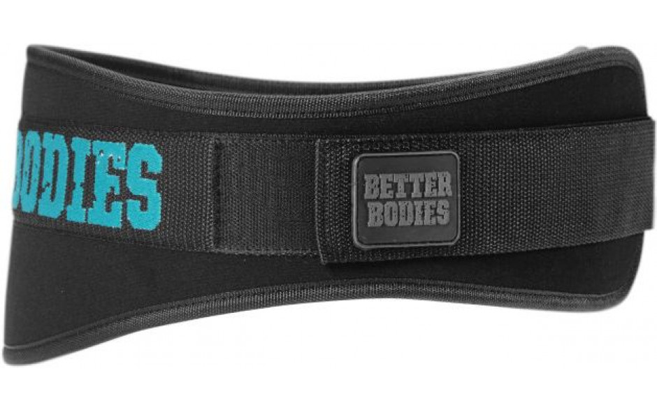 Better Bodies Womens Gym Belt - schwarz / blau