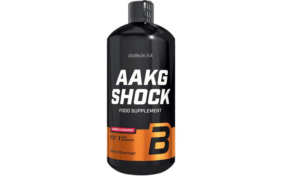 BioTechUSA L-Arginin AAKG Shock - 1000 ml