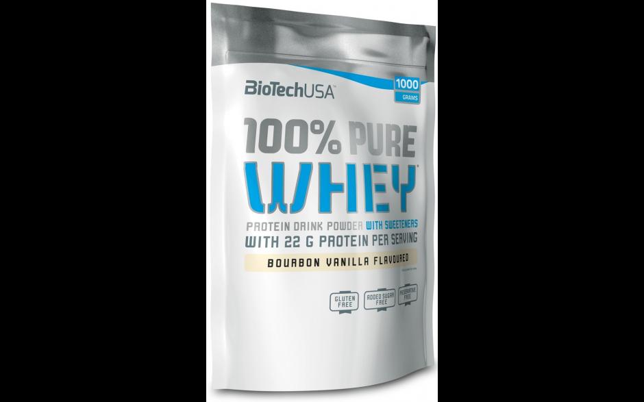 BioTechUSA 100% Pure Whey - 1000g Beutel