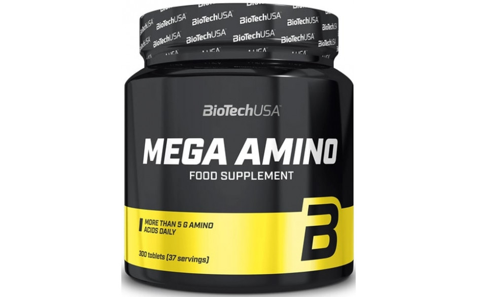 BioTechUSA Mega Amino - 300 Tabletten