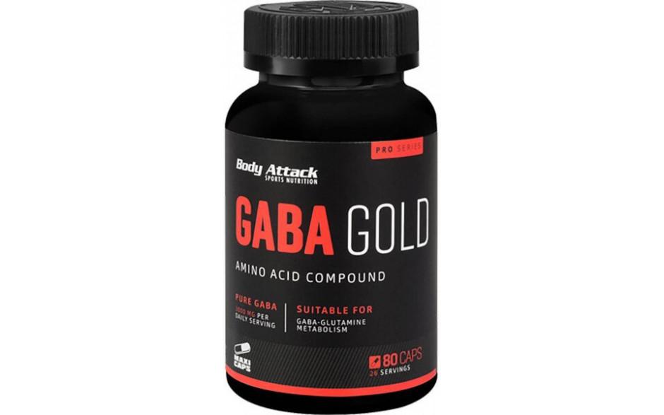 Body Attack GABA Gold - 80 Kapseln
