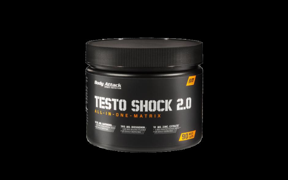 Body Attack Testo Shock - 90 Kapseln