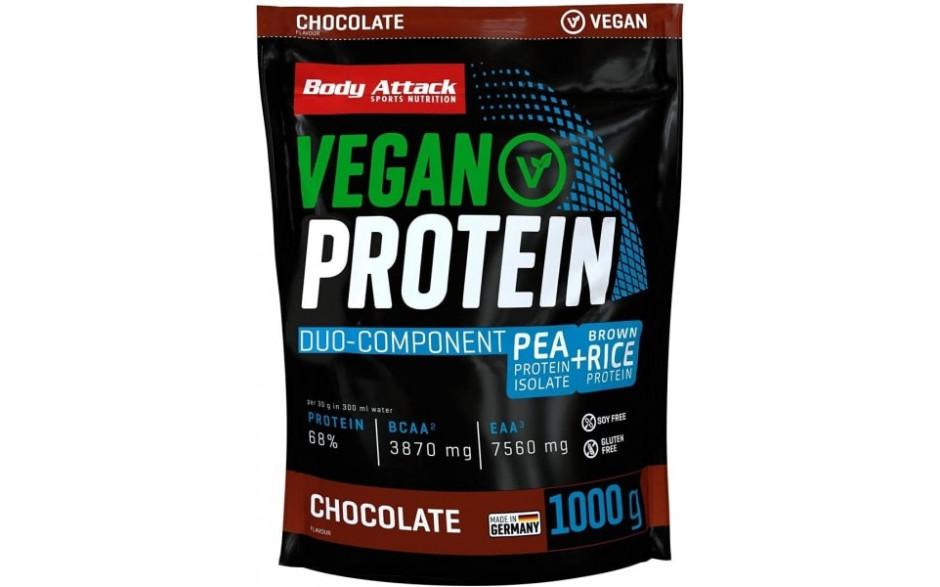 Body Attack Vegan Protein - 1000g