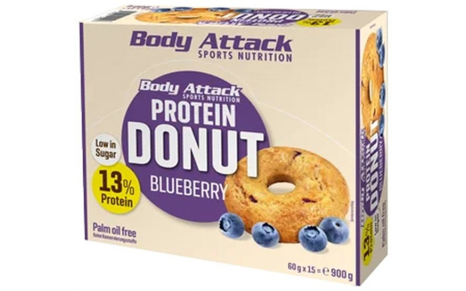 Body Attack Protein Donuts - 15x 60g