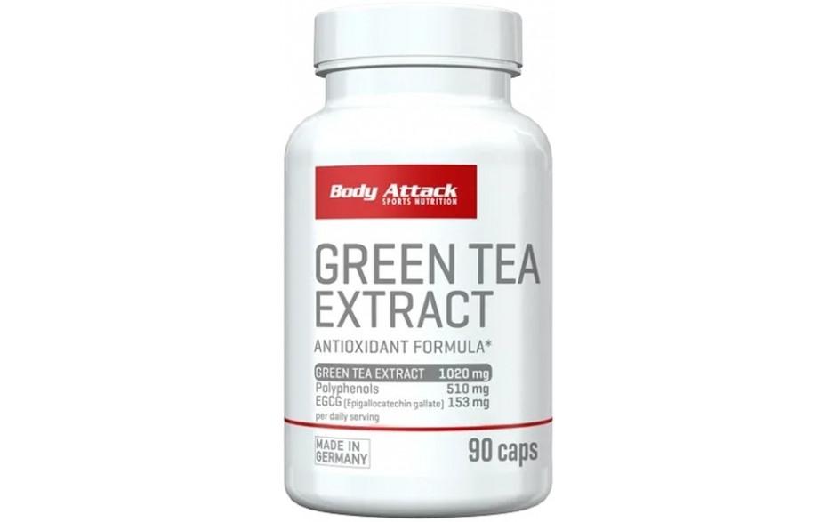 Body Attack Green Tea Extract - 90 Kapseln