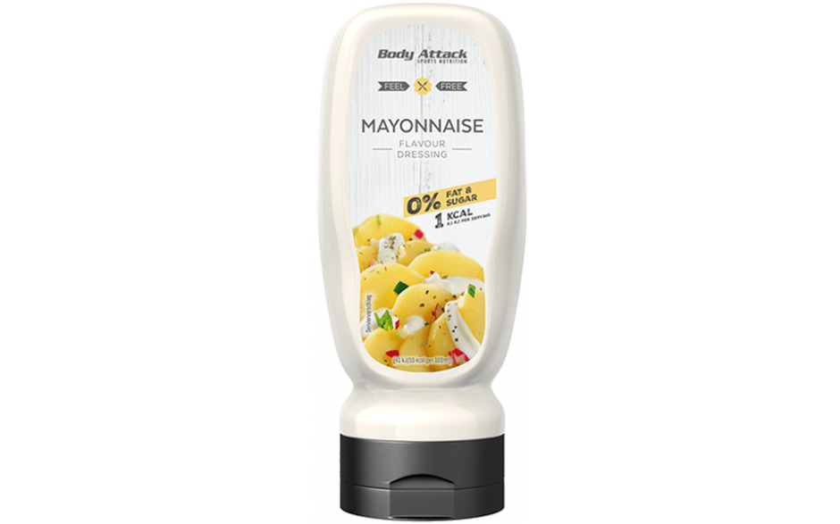 Body Attack Mayonnaise Dressing - 320 ml