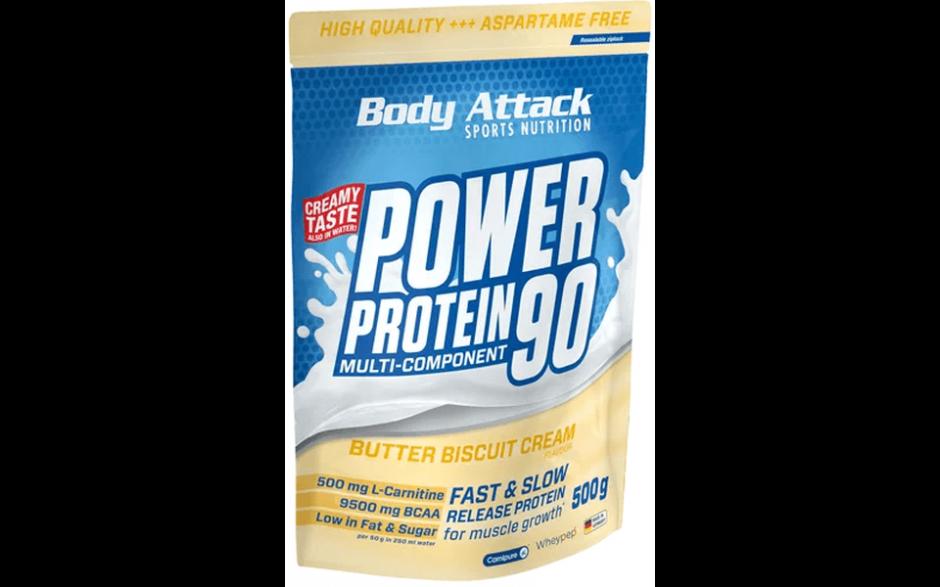 Body Attack Power Protein 90 2.0 - 500g Beutel
